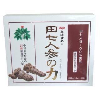 田七人参の力(徳用) 1.5g×150包