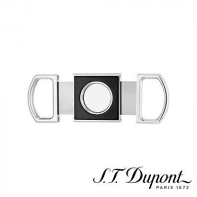 S.T. Dupont エス・テー・デュポン シガーカッター ブラック&クローム 003411