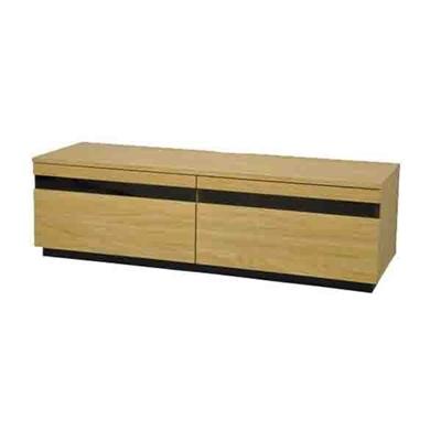 TVboard BKガラススリット AVボード120 AV-BKG120 ナチュラル