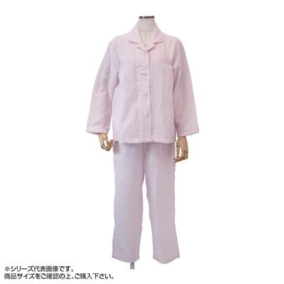 内野 uchino マシュマロガーゼストライプレディスパジャマ M RPZ18029 P(ピンク)