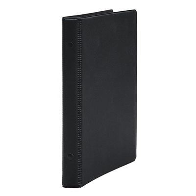 日記リーフ用の塩ビ製リングバインダー コレクト リングバインダー 新品 塩ビ製表紙 F-700D B5-L ブランド品 黒 日記リーフ用