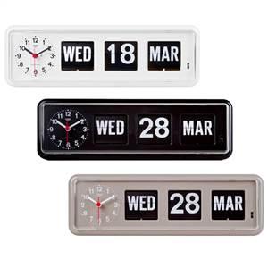 最安値 店舗 シンプルでおしゃれなパタパタカレンダー時計 TWEMCO トゥエンコ 置き BQ-38 パタパタカレンダー時計 掛け兼用