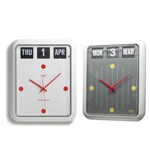 【予約商品】TWEMCO(トゥエンコ) 掛け時計 パタパタカレンダー時計 バークレイモデル BQ-12※2019年4月下旬入荷分予約受付中