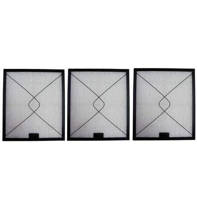東洋機械 難燃性ガラス繊維 レンジフードフィルター 大型レンジフード 差し込みタイプ 35.0×29.7 取付用枠3枚+フィルター3枚