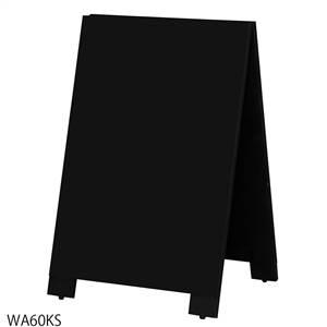 馬印 木製A型案内板mini BLACK BOARD(黒板) WA60KS
