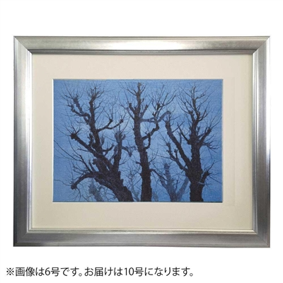 プリハード 東山魁夷 樹 10号特寸 特別額 0264