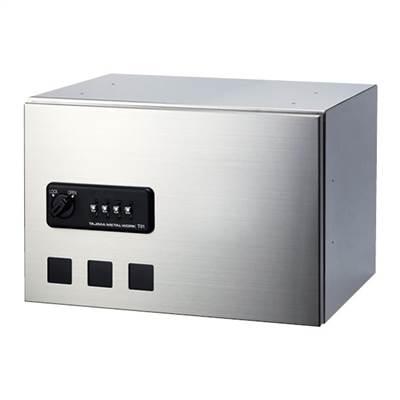 タジマメタルワーク 宅配ボックス 前入前出タイプ ダイヤル錠式 小型荷物用 GX36-24