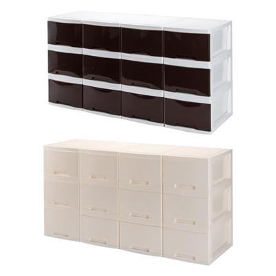 収納用品 マイライフ リビング収納ボックス 同色12個セット※2019年4月下旬入荷分予約受付中