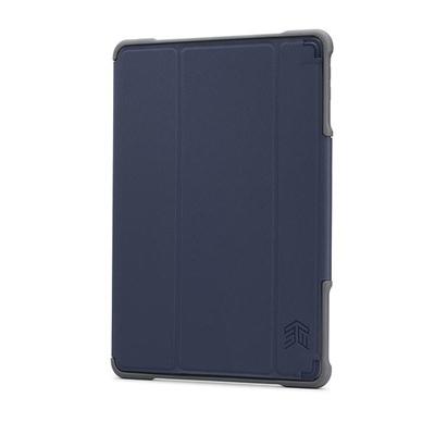 STM(エスティーエム) DUX iPad(第5世代/第6世代)用 耐衝撃ケース ブルー stm-222-160JW-04