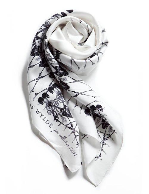 トーマスワイルド THOMAS WYLDE スカーフ 11SLK602 アイス 送料無料 アウトレット 10%OFFクーポンプレゼント 目玉商品 【ラッキーシール対応】