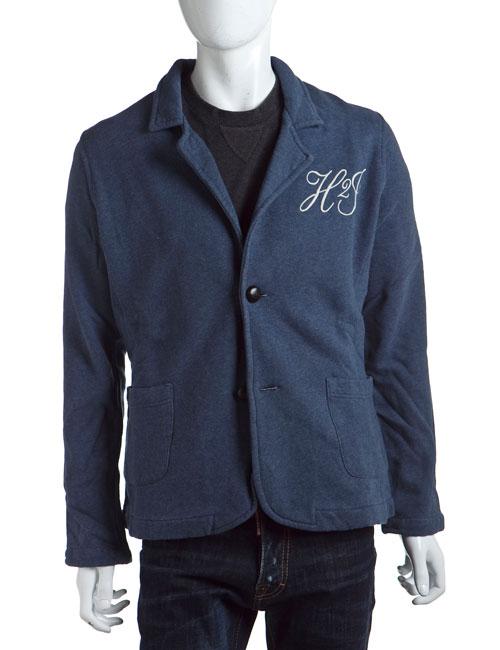 ハイドロゲン HYDROGEN ジャケット 2つボタン メンズ 110063 ブルー 10%OFFクーポンプレゼント