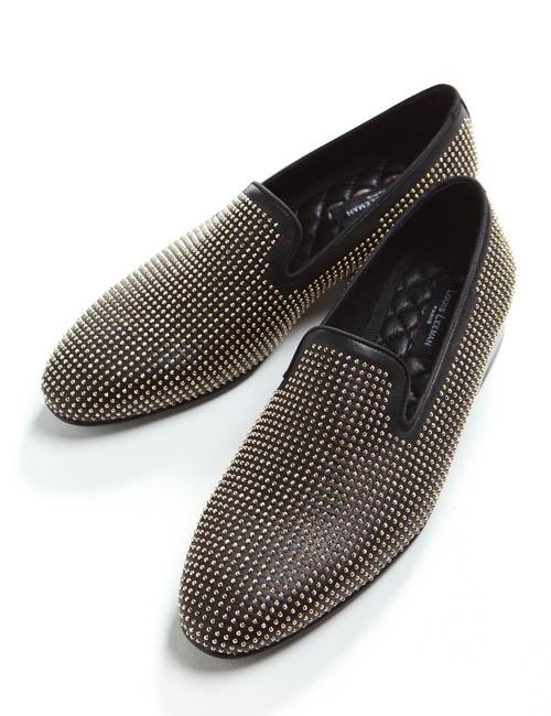 【スーパーSALE 10%OFFクーポン配布中】ルイリーマン LOUIS LEEMAN シューズ スリッポン 靴 メンズ LL075 ブラック 送料無料 10%OFFクーポンプレゼント 目玉商品 【ラッキーシール対応】