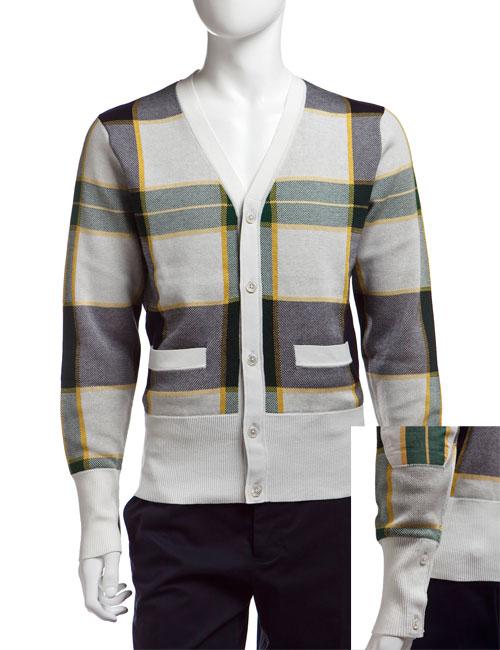ブラックフリース Black Fleece セーター カーディガン メンズ 79823 アイボリー 送料無料 楽ギフ_包装 10%OFFクーポンプレゼント