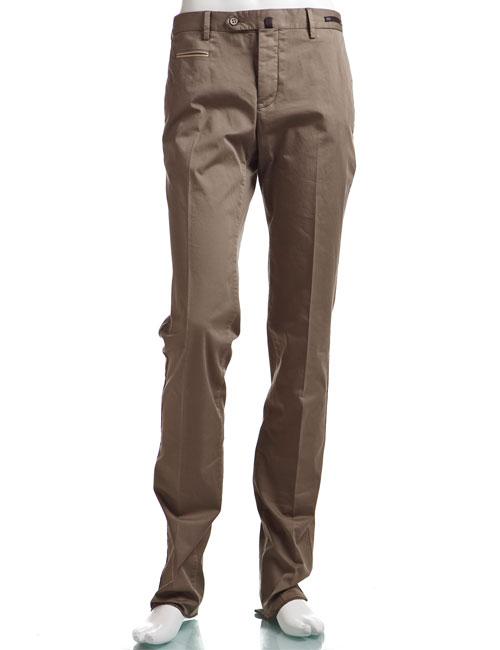 PT01 ピーティーゼロウーノ パンツ ボタンフライ bespake SLIM FIT ビスポーク メンズ CO VTS1 MA NT22 カーキ 送料無料 楽ギフ_包装 10%OFFクーポンプレゼント COVTS1 NT22 【ラッキーシール対応】