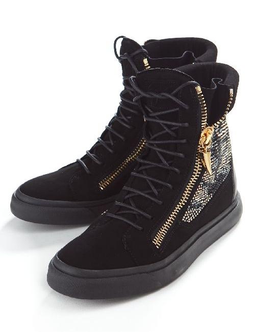 ジュゼッペザノッティ GIUSEPPE ZANOTTI ザノッティ スニーカー ハイカット 靴 メンズ RDU320 ブラック 送料無料 10%OFFクーポンプレゼント 目玉商品