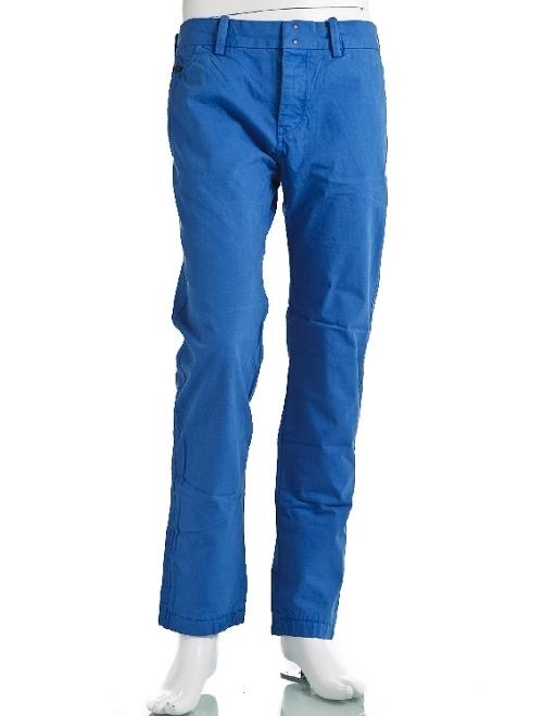 ディーゼル DIESEL パンツ コットンパンツ メンズ 00S1LD 0CAAW ブルー 送料無料 楽ギフ_包装 10%OFFクーポンプレゼント