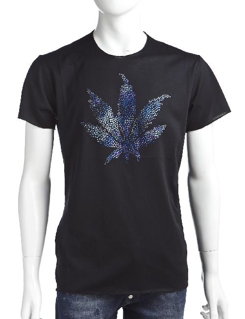 ルシアンペラフィネ lucien pellat-finet ペラフィネ Tシャツ メンズ EVH1557 ブラック 送料無料 楽ギフ_包装 10%OFFクーポンプレゼント