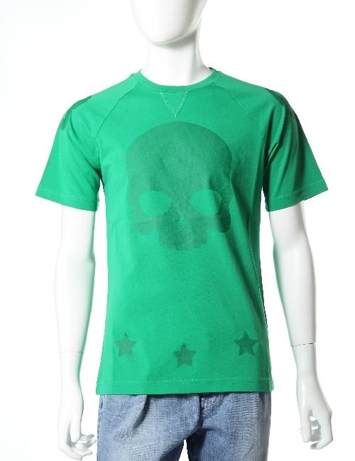 ハイドロゲン HYDROGEN ハイドロゲン Tシャツ ハイドロゲン 半袖 丸首 ハイドロゲン メンズ 160015 エメラルドグリーン 10%OFFクーポンプレゼント