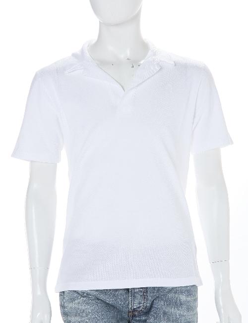 ハイドロゲン HYDROGEN ポロシャツ メンズ 160003 ホワイト 10%OFFクーポンプレゼント HYD底値挑戦