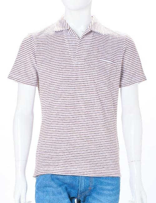 イレブンティ eleventy ポロシャツ メンズ 979PO0020 19007 ブラウン 送料無料 10%OFFクーポンプレゼント 目玉商品