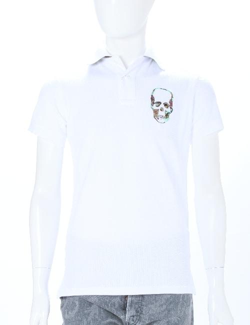 ルシアンペラフィネ lucien pellat-finet ペラフィネ ポロシャツ メンズ EVH1646 ホワイト 送料無料 アウトレット 10%OFFクーポンプレゼント 目玉商品 【ラッキーシール対応】