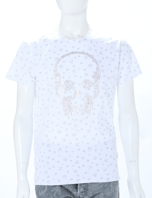 ルシアンペラフィネ lucien pellat-finet ペラフィネ Tシャツ メンズ EVH1664 ホワイト 送料無料 楽ギフ_包装 10%OFFクーポンプレゼント