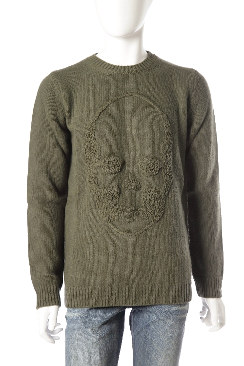 ルシアンペラフィネ lucien pellat-finet ペラフィネ セーター メンズ VM06H カーキ 10%OFFクーポンプレゼント