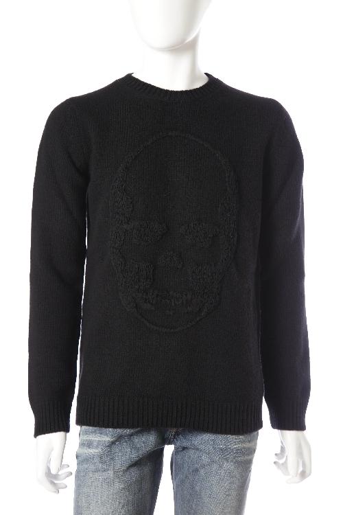 ルシアンペラフィネ lucien pellat-finet ペラフィネ セーター メンズ VM06H ブラック 10%OFFクーポンプレゼント
