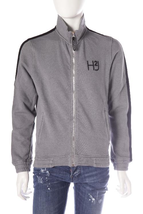 ハイドロゲン HYDROGEN トレーナー 長袖 トラックジャケット ジップアップ メンズ 170007 ブラック 送料無料 楽ギフ_包装 10%OFFクーポンプレゼント