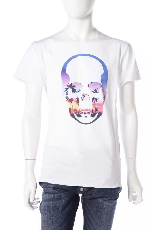ルシアンペラフィネ lucien pellat-finet ペラフィネ Tシャツ 半袖 丸首 メンズ EVH1759 ホワイト 送料無料 楽ギフ_包装 10%OFFクーポンプレゼント