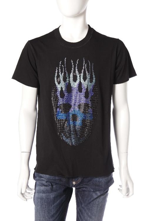 ルシアンペラフィネ lucien pellat-finet ペラフィネ Tシャツ 半袖 丸首 メンズ EVH1832 ブラック 送料無料 楽ギフ_包装 10%OFFクーポンプレゼント