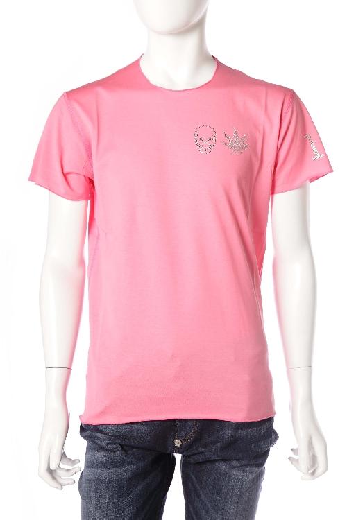 ルシアンペラフィネ lucien pellat-finet ペラフィネ Tシャツ 半袖 丸首 メンズ EVH1830 ピンク 送料無料 楽ギフ_包装 10%OFFクーポンプレゼント