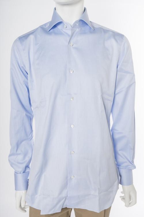 バルバ BARBA シャツ 長袖 メンズ 480206U ブルー 送料無料 楽ギフ_包装 10%OFFクーポンプレゼント 目玉商品0180313