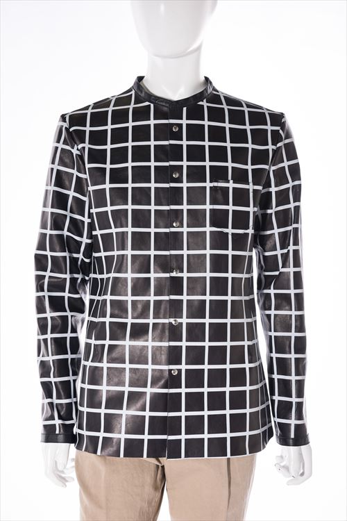 ノーム nome レザーブルゾン レザージャケット ノーカラー メンズ 16251 N407 ブラック 送料無料 10%OFFクーポンプレゼント 目玉商品0180313