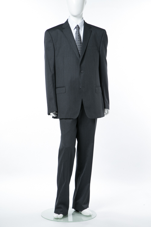 【期間限定10%OFFクーポン配布】ヴェルサーチコレクション VERSACE COLLECTION スーツ 2つボタン サイドベンツ シングル メンズ V100026 VD1094 グレー 送料無料 10%OFFクーポンプレゼント 【ラッキーシール対応】