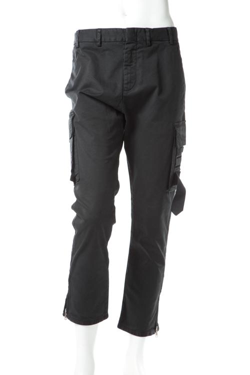 ヌメロヴェントゥーノ N°21 パンツ カーゴパンツ メンズ B081 0387 ブラック 送料無料 楽ギフ_包装 10%OFFクーポンプレゼント SALE16AW2