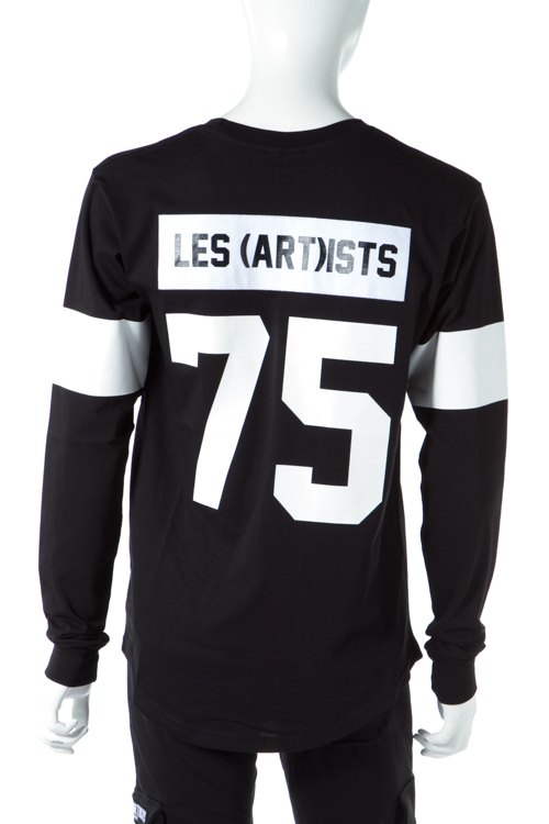 レスアーティスト LES(ART)ISTS ロングTシャツ ロンT 長袖 丸首 メンズ LA03TML51BK ブラック 送料無料 楽ギフ_包装 10%OFFクーポンプレゼント