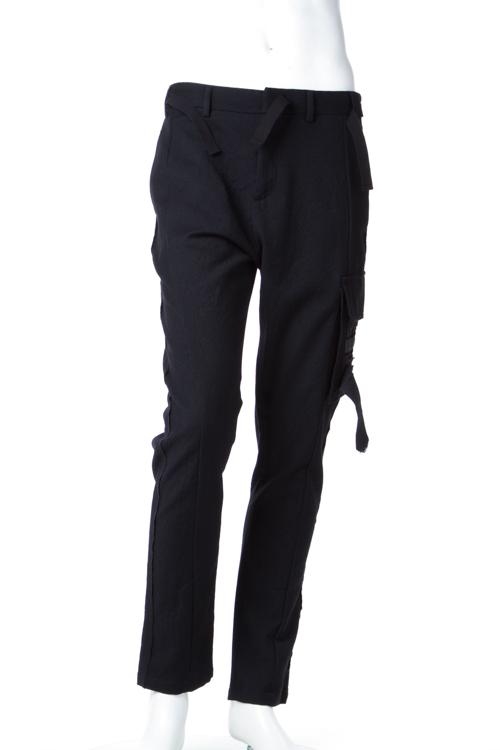 【期間限定10%OFFクーポン配布】ヌメロヴェントゥーノ N°21 パンツ カーゴパンツ メンズ B053 3108 ブラック 送料無料 楽ギフ_包装 10%OFFクーポンプレゼント SALE16AW2 【ラッキーシール対応】