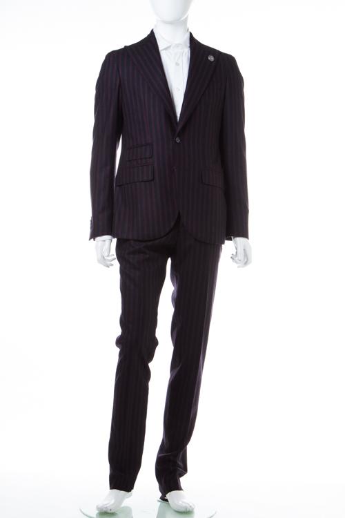 【期間限定10%OFFクーポン配布】ハイドロゲン HYDROGEN スーツ 2つボタン サイドベンツ シングル メンズ 190304 ボルドー 送料無料 10%OFFクーポンプレゼント 【ラッキーシール対応】