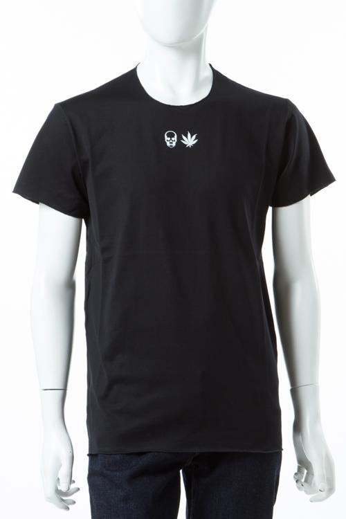 ルシアンペラフィネ lucien pellat-finet ペラフィネ Tシャツ 半袖 丸首 メンズ EVH1943 ブラック 送料無料 楽ギフ_包装 10%OFFクーポンプレゼント