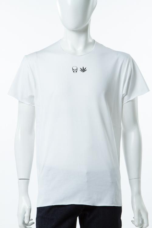 ルシアンペラフィネ lucien pellat-finet ペラフィネ Tシャツ 半袖 丸首 メンズ EVH1943 ホワイト 送料無料 楽ギフ_包装 10%OFFクーポンプレゼント