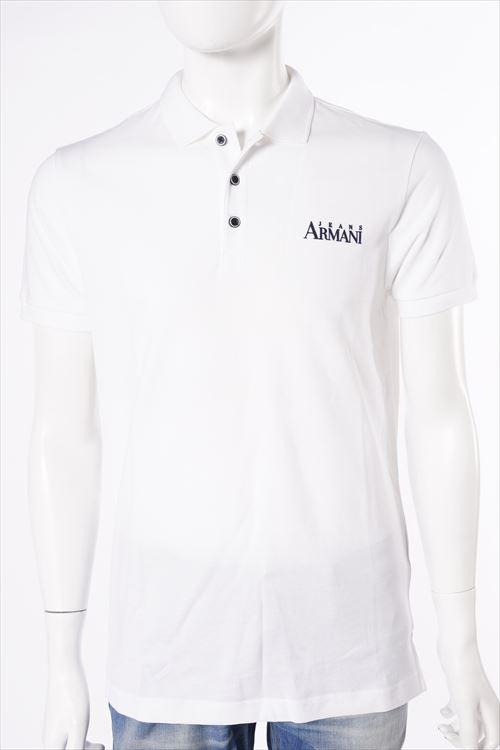 アルマーニ アルマーニジーンズ ARMANI JEANS アルマーニ ジーンズ ポロシャツ 半袖 メンズ C6M1A QK ホワイト 送料無料 楽ギフ_包装 10%OFFクーポンプレゼント