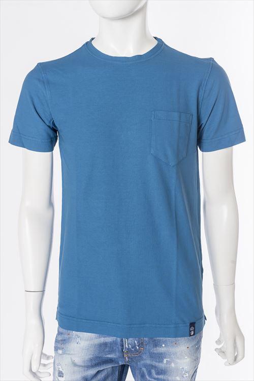 デュルモア DRUMOHR Tシャツ 半袖 丸首 メンズ DTJ000 ブルー 送料無料 楽ギフ_包装 10%OFFクーポンプレゼント