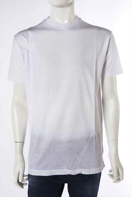 ディースクエアード DSQUARED2 ディースクエアード Tシャツ 半袖 丸首 メンズ S71GD0240S22427 ホワイト 送料無料 楽ギフ_包装 10%OFFクーポンプレゼント DSQ値下げ 2004値下げ