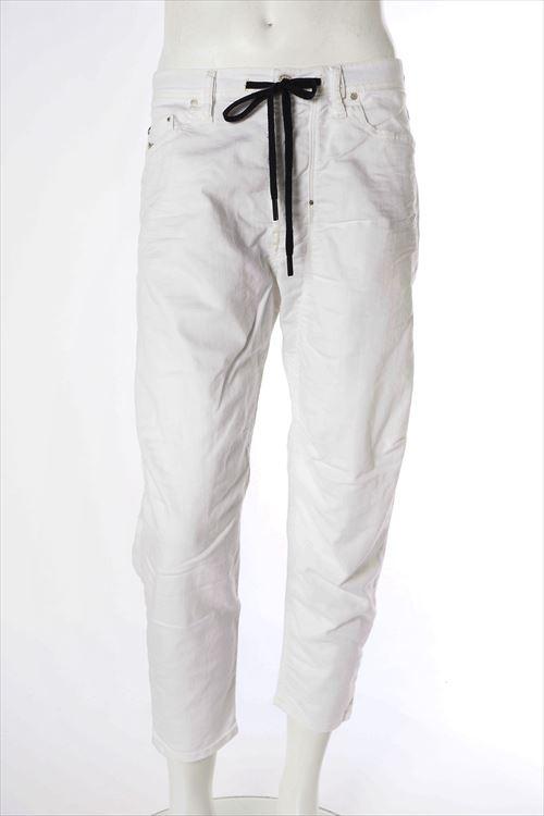 ディーゼル DIESEL ジーンズパンツ デニム ストレッチジーンズ ホワイトデニム TRUCKTER L.30 PANTALONI COMFORT CARROT メンズ 00SCAZ 0830G ホワイト 送料無料 楽ギフ_包装