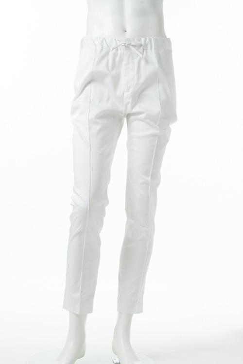 ダニエレアレッサンドリーニ DANIELEALESSANDRINI パンツ スラックス PANTALONE LENZUOLO メンズ P3335N7643700 ホワイト 送料無料 楽ギフ_包装 10%OFFクーポンプレゼント