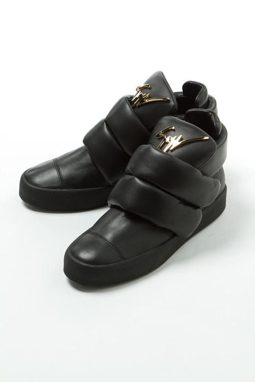 【スーパーSALE 10%OFFクーポン配布中】ジュゼッペザノッティ GIUSEPPE ZANOTTI スニーカー ハイカット シューズ 靴 メンズ RU5022 ブラック 送料無料 10%OFFクーポンプレゼント 【ラッキーシール対応】