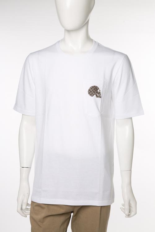 ガブリエレパジーニ GABRIELE PASINI Tシャツ 半袖 丸首 GP メンズ G8TSHIRT3 8303 ホワイト 送料無料 楽ギフ_包装 10%OFFクーポンプレゼント