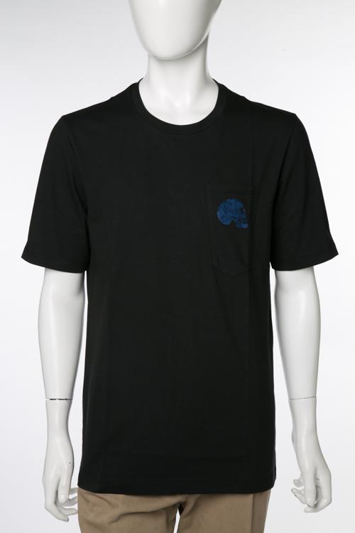 ガブリエレパジーニ GABRIELE PASINI Tシャツ 半袖 丸首 GP メンズ G8TSHIRT4 8304 ブラック 送料無料 楽ギフ_包装 10%OFFクーポンプレゼント
