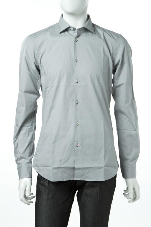 マニュエル リッツ MANUEL RITZ シャツ 長袖 無地 メンズ E601LX 173286 グレー 送料無料 楽ギフ_包装 10%OFFクーポンプレゼント